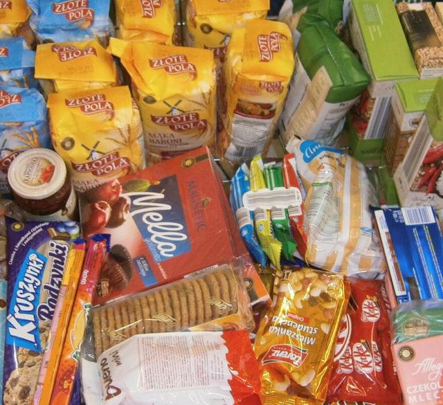Paczka żywnościowa
