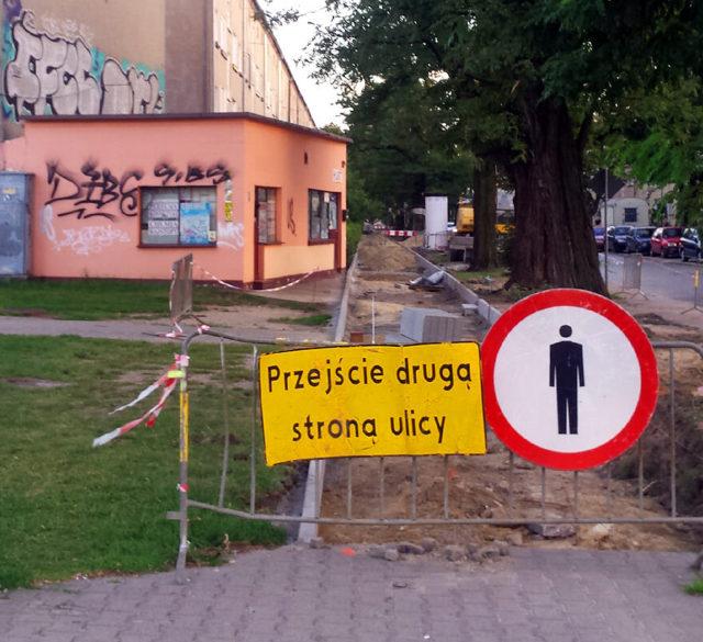 Remont chodnika ul. Górnicza